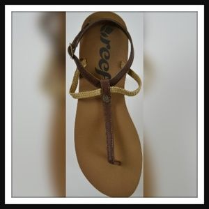 Cushion T-Strap Sandals By REEF